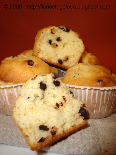 Chocolate chips muffins 4