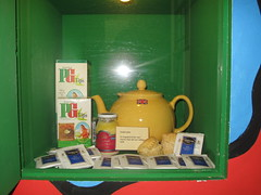 PG tips at the teamuseum