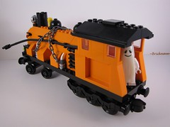 Jack 'O Lantern Locomotive pic 2