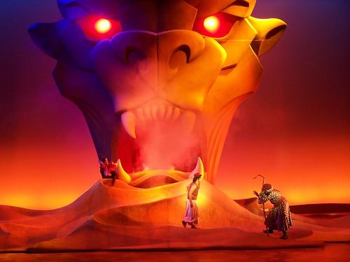 Aladin play at Disney World