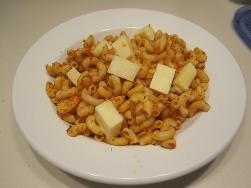 macaroni and cheese at home