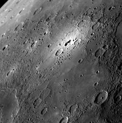 Mancha brillante de Mercurio