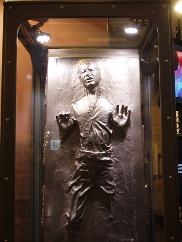 Han Solo in Carbonite at Star Wars in Concert 2009 in Charlotte, NC