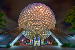 Spaceship Earth HDR (~Life by the Drop~) Tags: world park vacation tourism wonder photography orlando epcot nikon florida earth getaway magic dream wideangle tourist disney special professional disneyworld future dreams theme destination spaceship fullframe nikkor waltdisneyworld fx magical hdr attraction waltdisney dvc scl uwa orlandoflorida gdad wheredreamscometrue orlandothemepark disneythemepark yearofamilliondreams d700 waltdisneyworldorlando nikond700 wherethemagiclives highdynamicrance disneypassholder disneyyourway