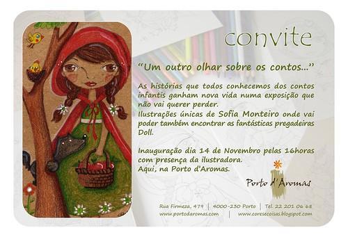 Convite Exposição Sofia Monteiro