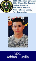 Spc. Adrian L. Avila (USFallenorg) Tags: november usa afghanistan dead army us october marine war massacre military iraq american fallen afghan hero soldiers tribute coalition 2009 troops recent iraqi nato victims veterans died k9 casualties 21gunsalute operationenduringfreedom fthood pgr wardogs presidentobama