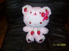 2009 Breast Cancer Awareness Japan Limited Hello Kitty Plush ( Veronica ) Tags: