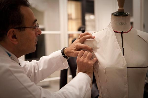 christian dior, artisanat, james bort, dior couture, montaigne, Raffaele ILARDO, premier d'atelier, tailleur