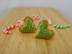 Green Frosting Cookie Studs