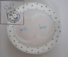 Pires coração #1 (O voo da Joaninha) Tags: love à with o cerâmica da mão pintura joaninha voo pintado colecção