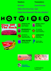 HotWired front page