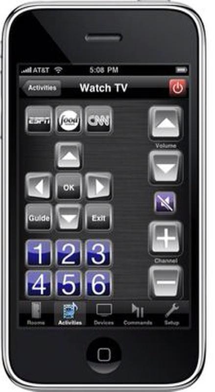 iPhone som fjärrkontroll