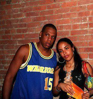Aaliyah and jay-z