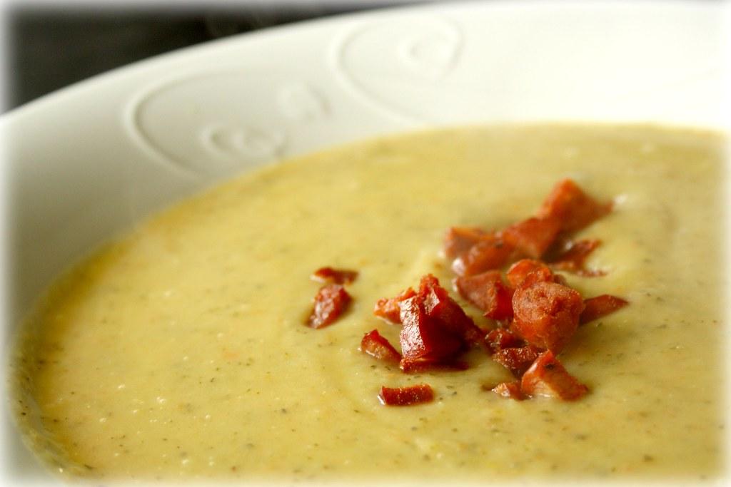 Pear & Zucchini Soup