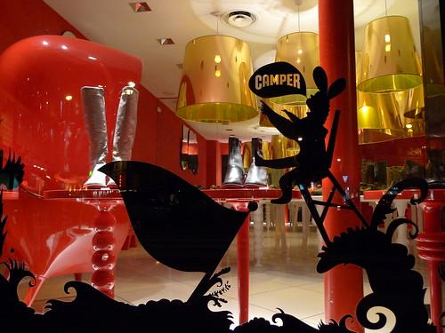 Vitrines Camper - Paris decembre 2009
