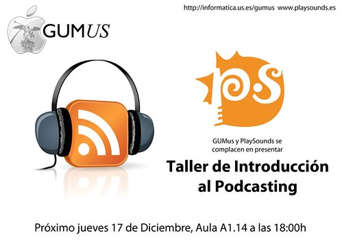 Taller de Introduccion al Podcasting en Universidad Sevilla