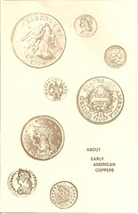 Early American Coppers pamphlet on Early American Copper coinage