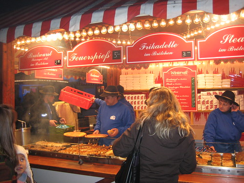 Bratwurst Vendor at Potsdamer Plaz