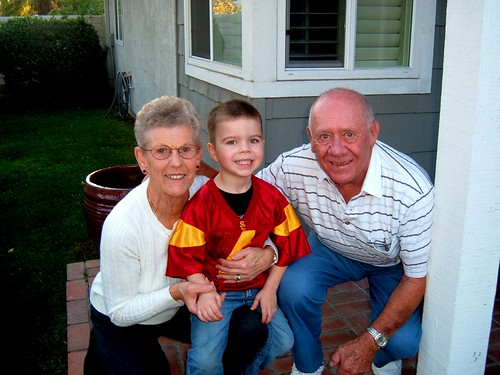 Great Grandparents & Angry Toddler