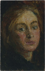 "Mary MEYER  1878 Australia – 1975   Self-portrait c1898. National Gallery of Australia (renzodionigi) Tags: portrait painting design engraving autoritratto ritratto arts"" ""fine ""selfportrait"""