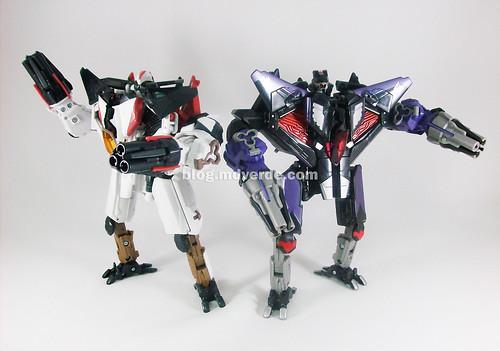 Transformers Ramjet & Skywarp RotF Voyager - modo robot