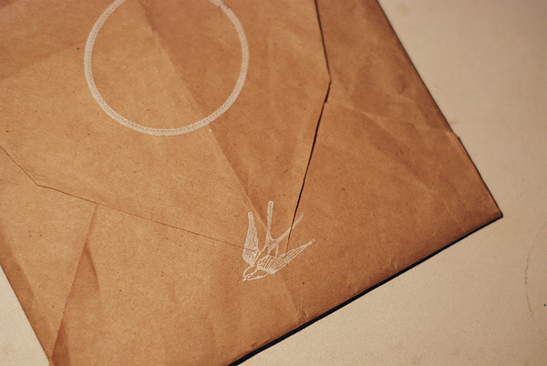 envelope back and seal