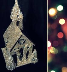 Belated (MySpotlessMind) Tags: christmas church shiny bokeh christmastree sparkle ornament merrychristmas happychristmas