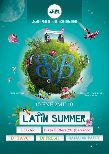 Latin Summer - Plaza Butters