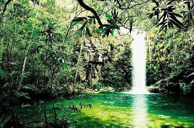 Cachoeira das Loquinhas, Chapada dos Veadeiros, GO