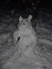 Schneemaus im Wildenloh (feuermelder2009) Tags: ammerland wildenloh schneemaus