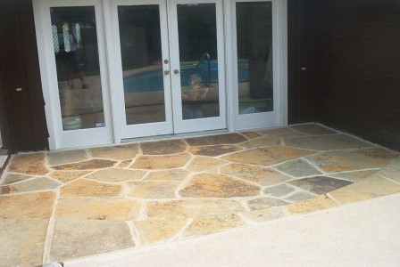 Patios stone landscaping