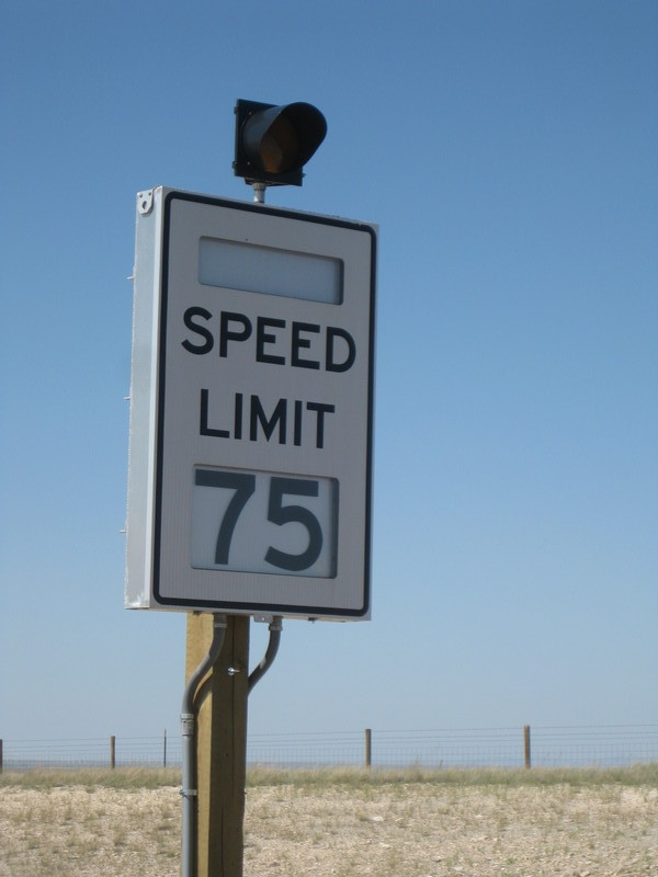 Adjustable Speed Limit