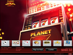 Planet 7 Casino Lobby