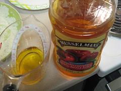 Apple juice for pork shoulder cooking