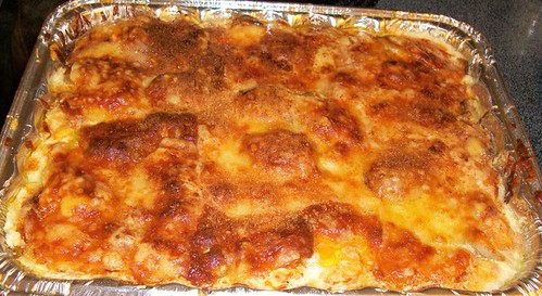 Three Cheese Scalloped Potatoes