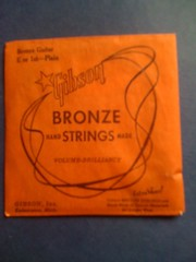 high E antique guitar string