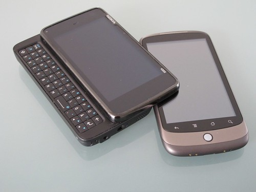 Nokia N900 and Nexus One