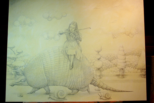 WIP - Armadillo Dream (Pencils 3)