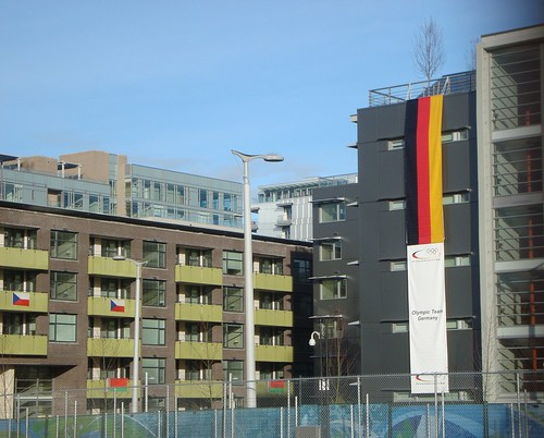 Team Germany Has Arrived at Vancouver 2010 Olympic Village South and Is Expected to Win Most of the Medals
