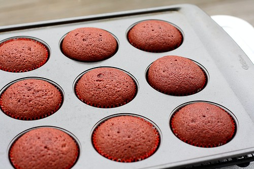 SMS Red Velvet Cupcakes
