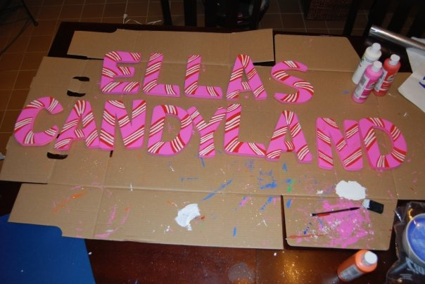 graphic about Candyland Letters Printable identify Rejoice Usually: Ellas 1st Birthday Bash within just Candyland!