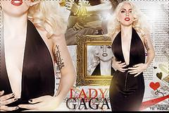 Lady GAGA (ThAM Andrade) Tags: lady gaga blend
