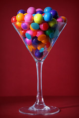 Variegating (Jadydangel) Tags: red party color shiny candy martini celebrate multicolor oohshiny gumball cmwdred jadydangel gumballtini