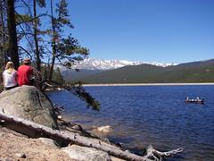 Looking at Turquoise Lake (MandyGauldin) Tags: leadville twinlakes twinlakescolorado leadvillecolorado