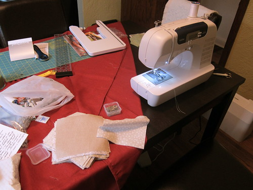 #67 - Dining Room Turned into Quilting Studio