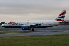 G-EUUD - 1760 - British Airways - Airbus A320-232 - Manchester - 081126 - Steven Gray - IMG_3644