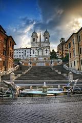 Piazza di Spagna / Rome, Italy