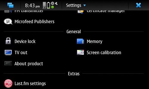 Last.fm on N900
