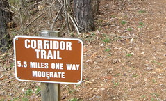 11 miles minimum if you hike it all