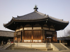 Kyoto/Nara '10 #7 (tt64jp) Tags: roof history japan tile temple buddhist religion dream buddhism unesco worldheritagesite sacred hexagon  meditation nara spiritual  japon ikaruga contemplation horyuji      yumedono     horyujitemple princeshotoku   lhistoire      hallofdreams